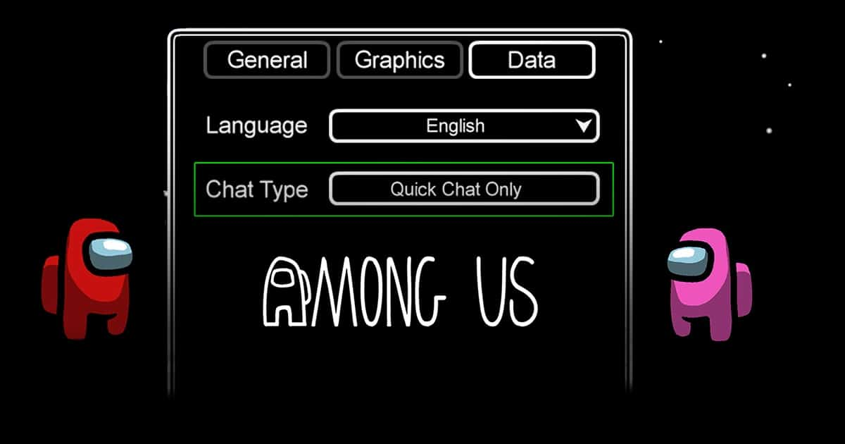 Quick chat settings