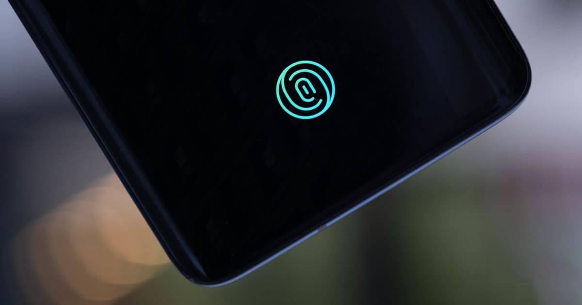 in screen fingerprint sensor
