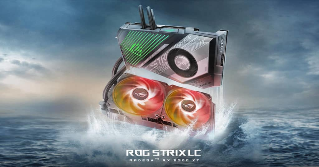 Asus announces its hybrid ROG Strix LC RX 6900 XT Top Overclocked Edition card