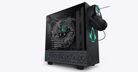 CRFT 08 H510 Valhalla An collab between NZXT and Ubisoft