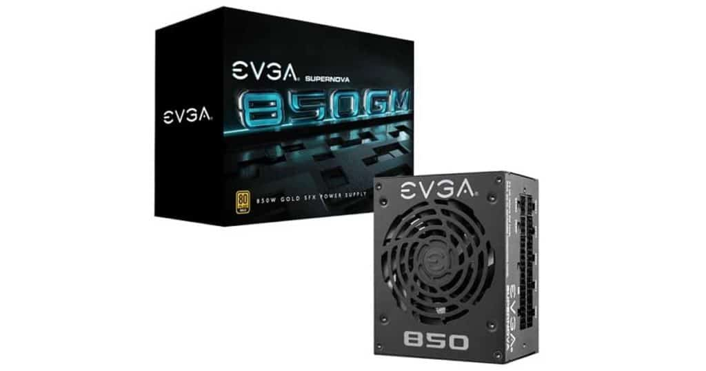 EVGA launches 850 W and 750 W versions of SuperNOVA GM power supply