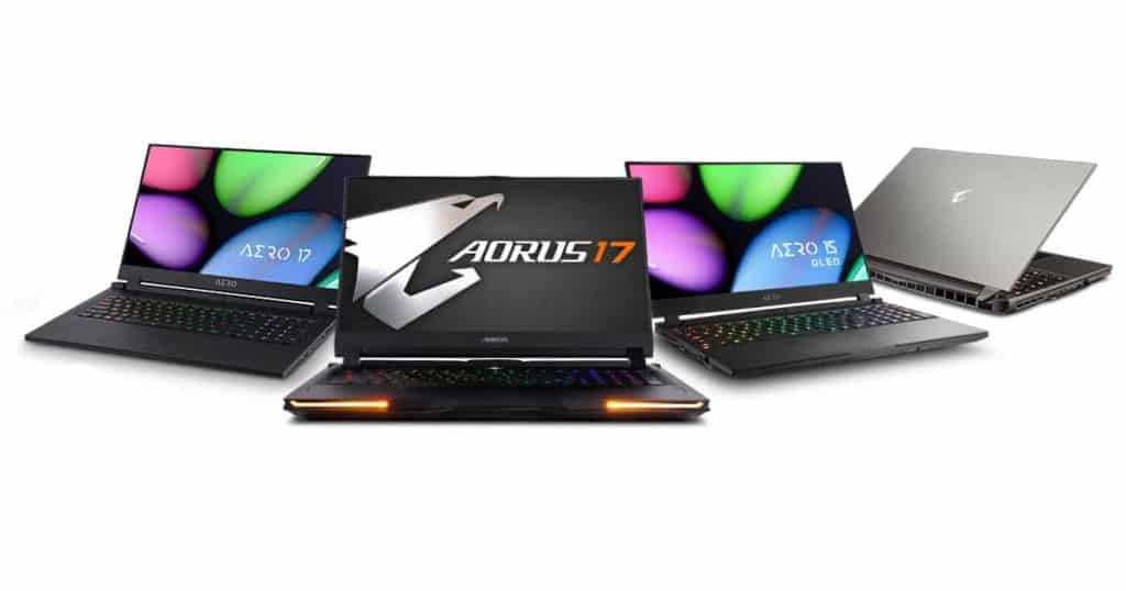 Gigabyte releasing new devices featuring Intel's latest Tiger Lake processors