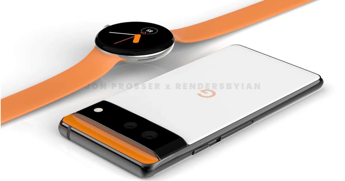 Google Pixel 6 & Google Pixel Watch