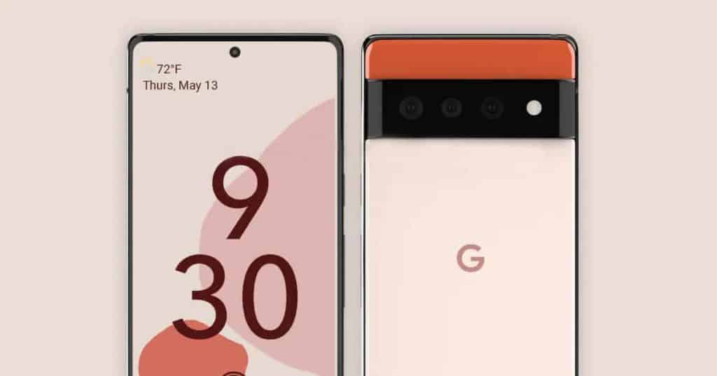 New rendered image of Google Pixel 6 and Google Pixel Watch