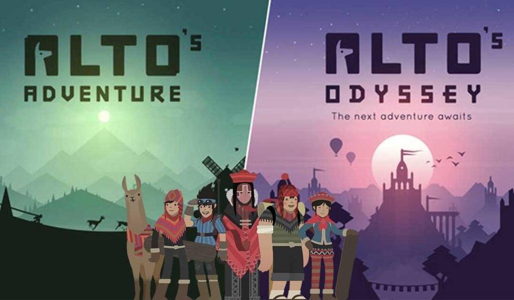 Alto's Odyssey and Alto's Adventure