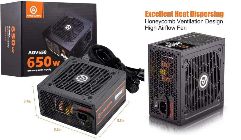 """AresGame AGV650 – """"Best Budget PSU"""""""