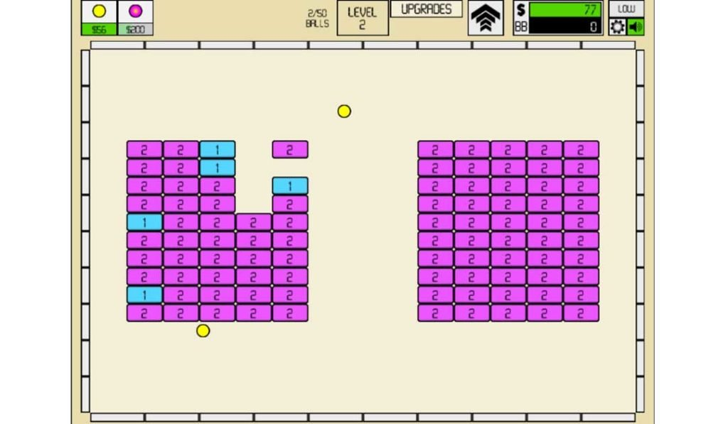Idle Breakout - Best at Mimicking Old-School Flash Games