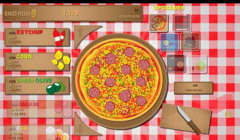 Pizza Clicker - Simple and Silly for a Bit of Fun