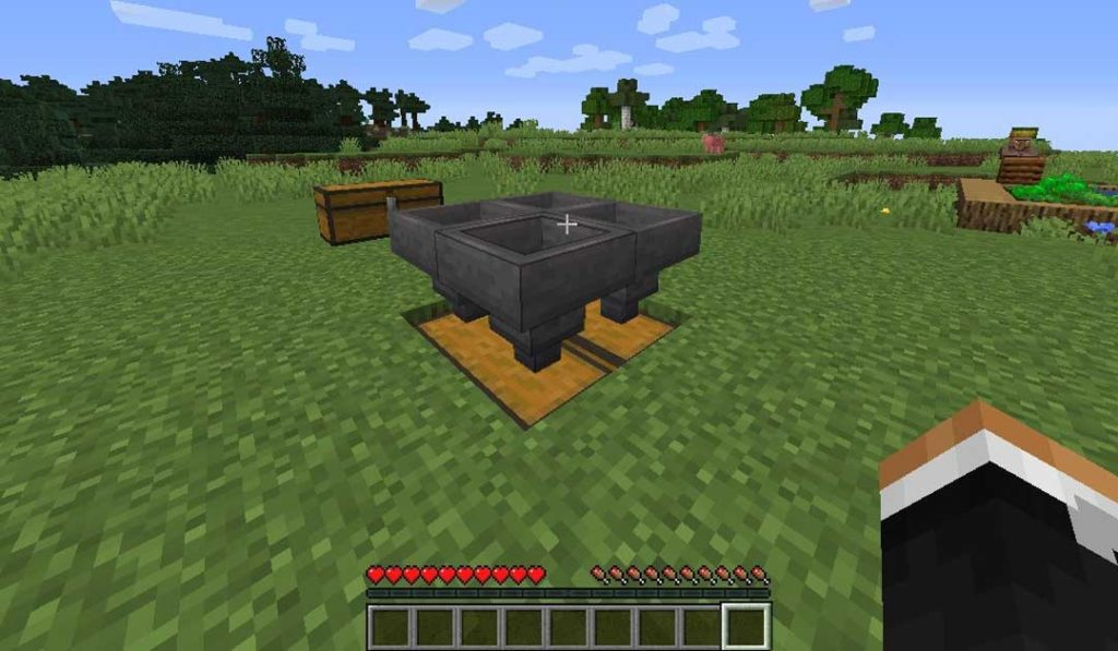 Chests and Hopper Orientation - How to Make a Mob Farm