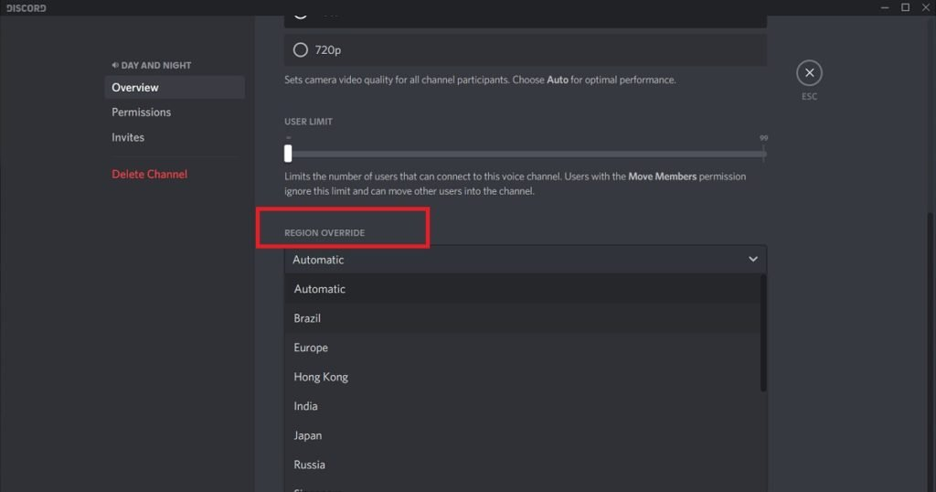 discord keeps disconnecting server