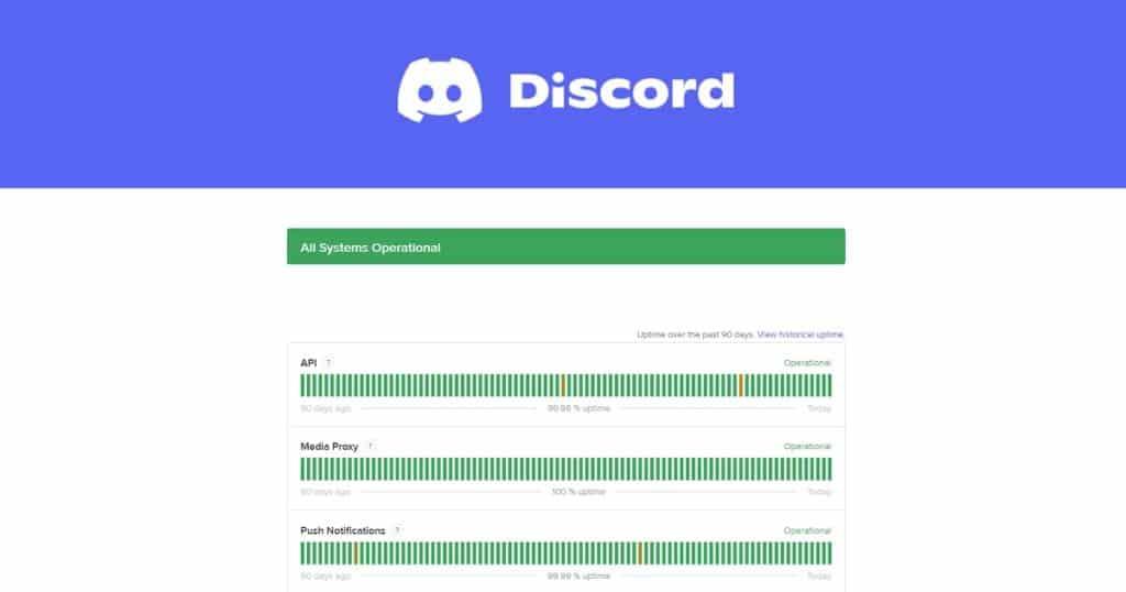discord keeps disconnecting status