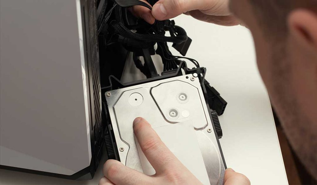 issue with your hard drive