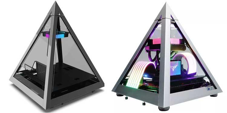 Azza Pyramid - Most Unique Tempered Glass Case