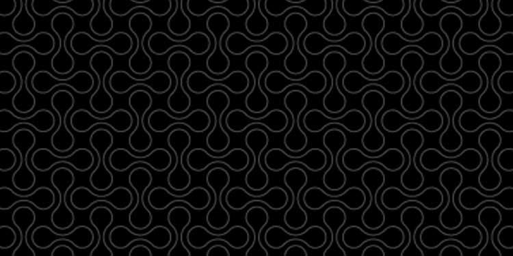 Double Bubble Dark Pattern - Best Geometric Designs