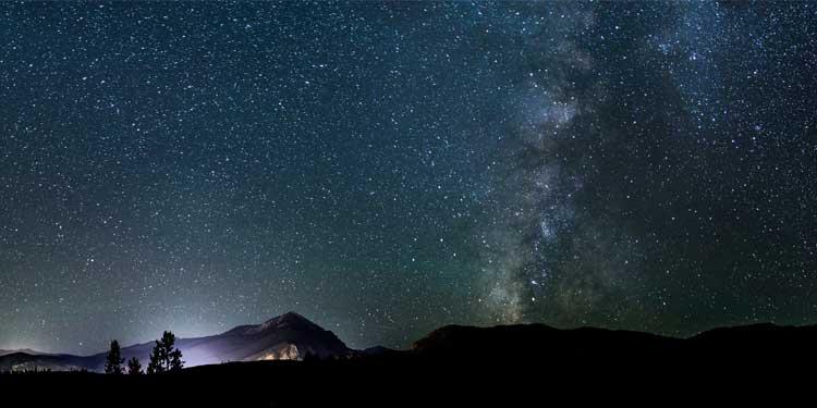 Starry Sky - Best Dark  Ultrawide Monitor Wallpaper