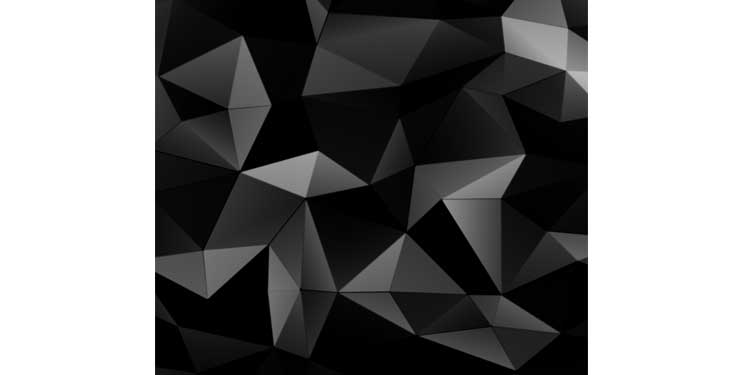 Dark Wall Abstract Triangle - Best Wallpaper for Android and iPhone