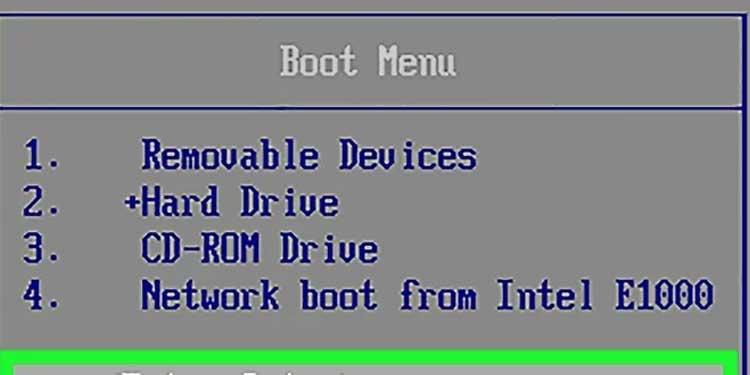 Boot-Using-USB