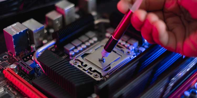 Clean Thermal Paste off CPU an reapply thermal paste