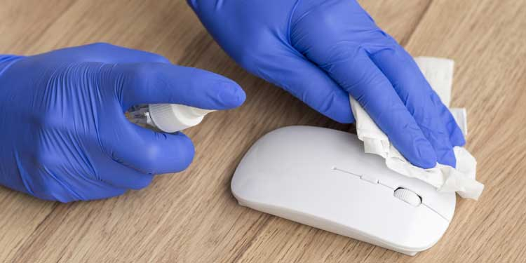 Cleaning Mouse