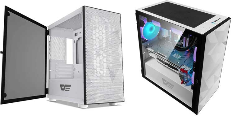Dark Flash DLM21 Mesh - Best Budget Tempered Glass Case