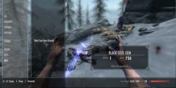 Fill the Black Soul Gem