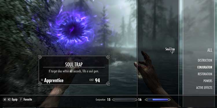 Get the Soul Trap spell