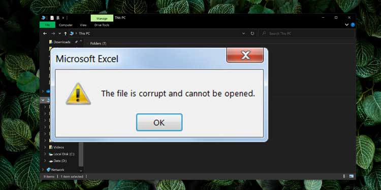Issues with File Corruption