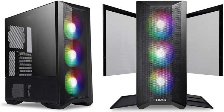 Lian Li Lancool Mesh II - Best Tempered Glass Case For Airflow