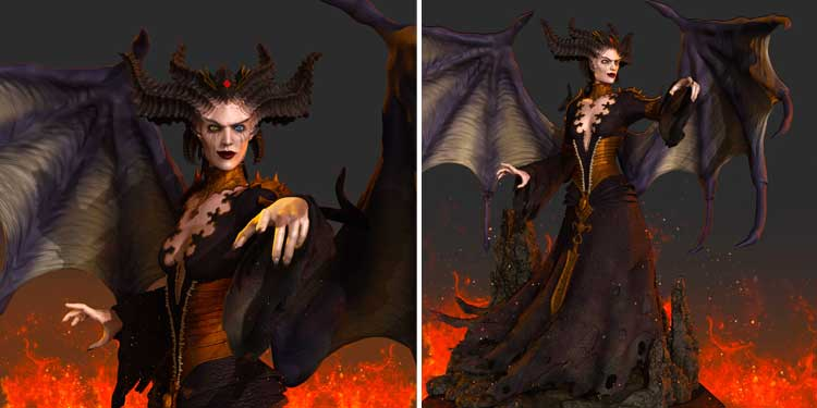 Lilith the First Mother diablo