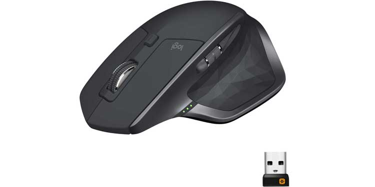 Logitech MX Master 2S Wireless Mouse - Best Mouse for Multiple Computers