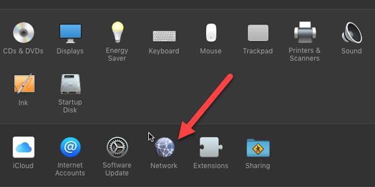 Mac Network Setting