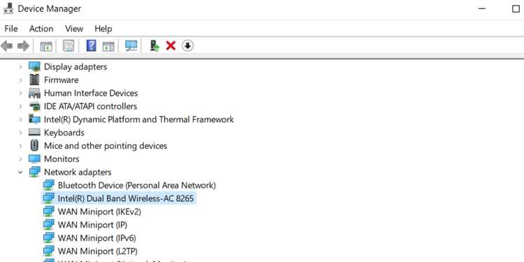 Network Adapter Settings Windows