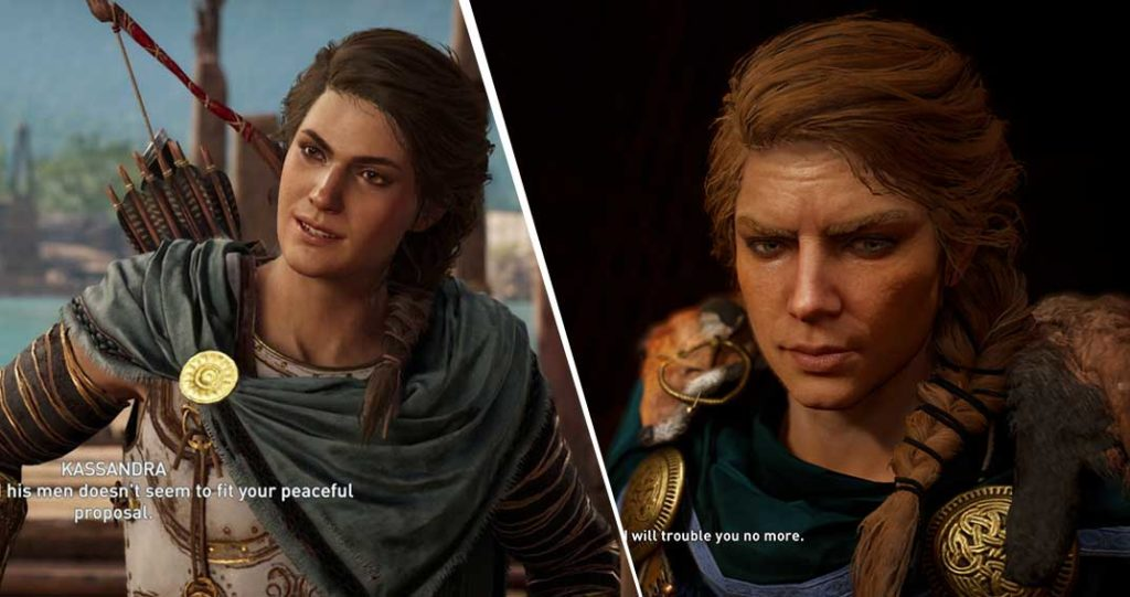 Odyssey Vs Valhalla Facial Expression