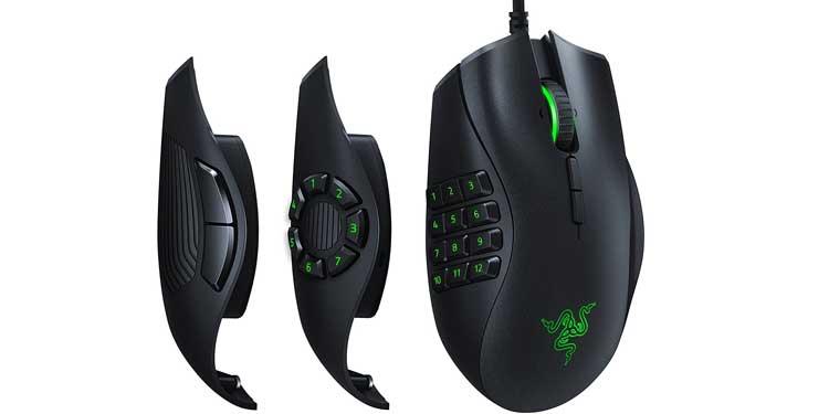 Razer Naga Trinity - Best Mouse for excel