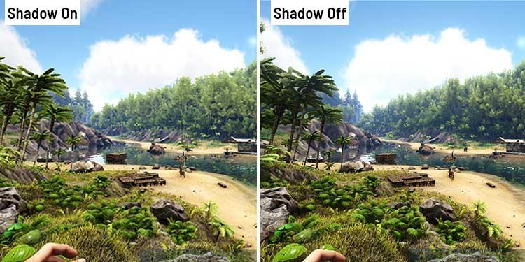 Shadow Settings in ark survival