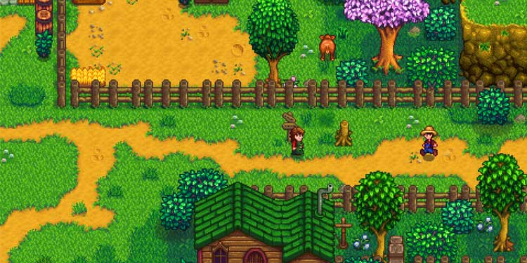 Stardew Valley - online games for couples