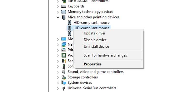 Update Logitech Mouse Driver