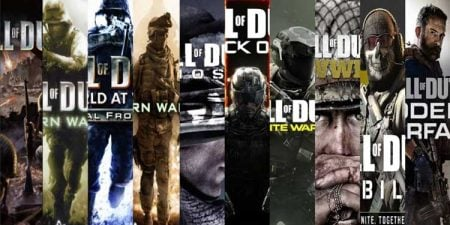 all call of duty games