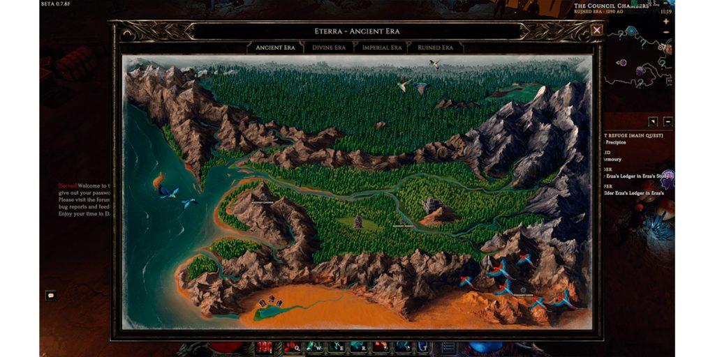 last epoch map