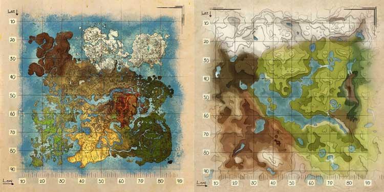 ARK MAPS