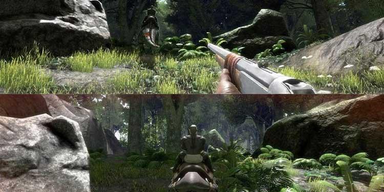 How to Play ARK Survival Split Screen