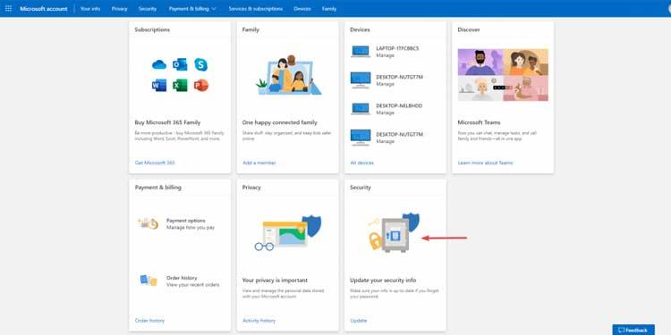 Change Microsoft Windows Account