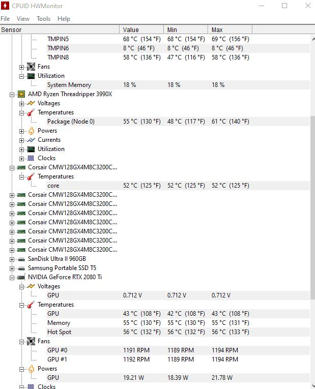 Check PC Temperature