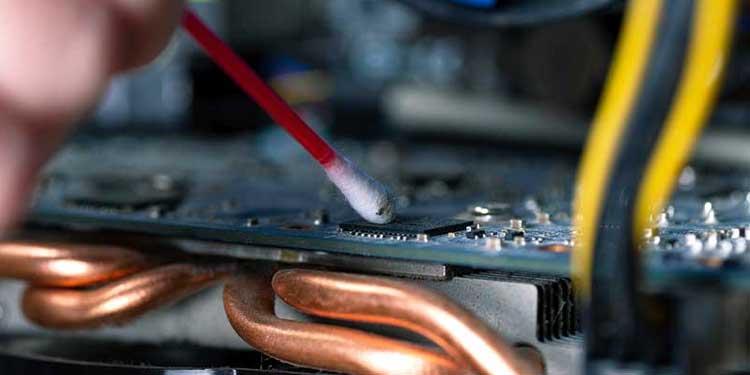Cleaning Dusty GPU