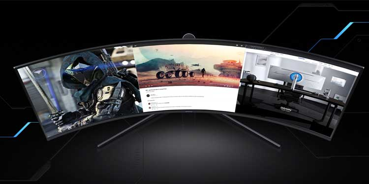Curved Monitor Gaming