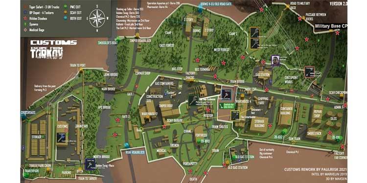 Custom Maps Tarkov