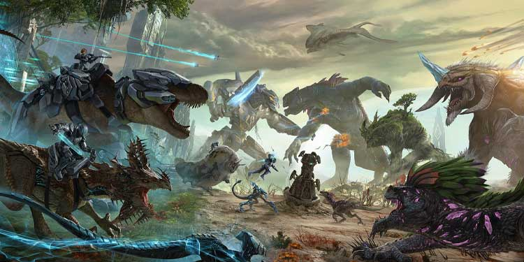 Dinosaurs to Tame in ARK