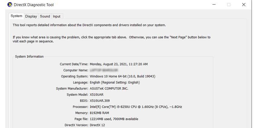 DirectX Information: Call of Duty Dev Error 6068 Fix
