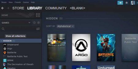 Hidden Games on Steam