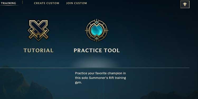 League of Legends Practice Tool